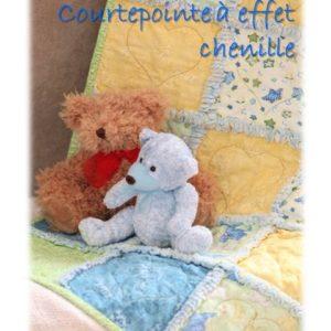 Courtepointe à effet de chenille (Rag) Bébé