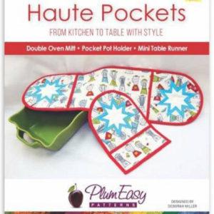 Haute pocket double oven mitt pattern