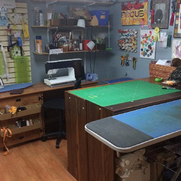 Mon studio bien rangé
