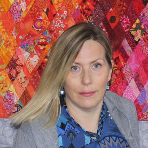 Claire, propriétaire de Courtepointe Claire Inc